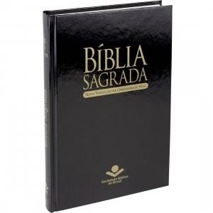 Bíblia Sagrada NTLH Média Capa dura Preta - SBB