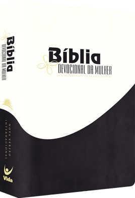 Bíblia NVI Devocional da Mulher - Pérola com Preto
