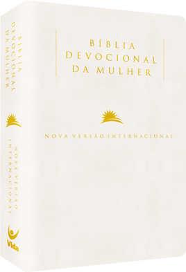 Bíblia NVI Devocional da Mulher - Luxo Pérola