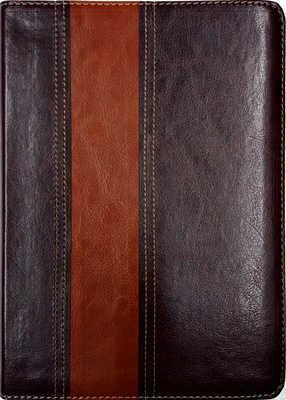 Bíblia-Thompson-AEC-Couro-Marrom-Escuro-E-Claro