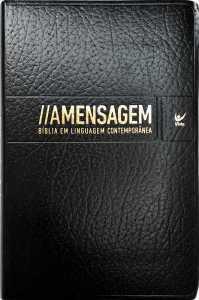 A Bíblia Mensagem Convertex Preta