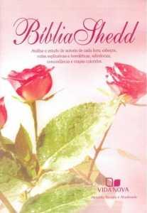 Bíblia Shedd - Rosa - Feminia