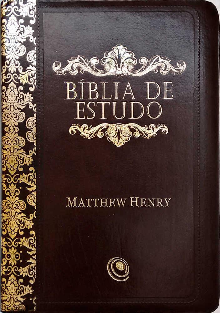 Bíblia de Estudo Mattew Henry