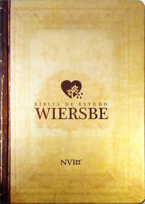 Biblia de estudo Wiersbe Capa dura