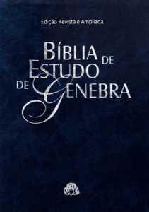 Biblia de estudo Genebra Azul