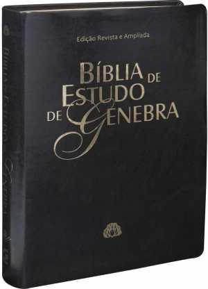 Bíblia de Estudo Genebra - Capa preta
