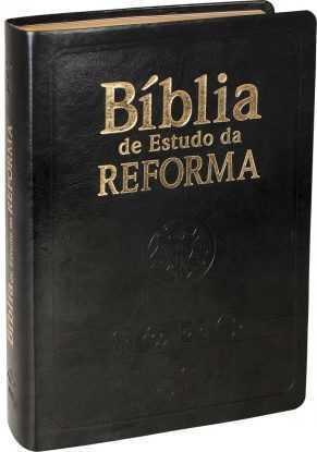 Bíblia de Estudo da Reforma-Preta
