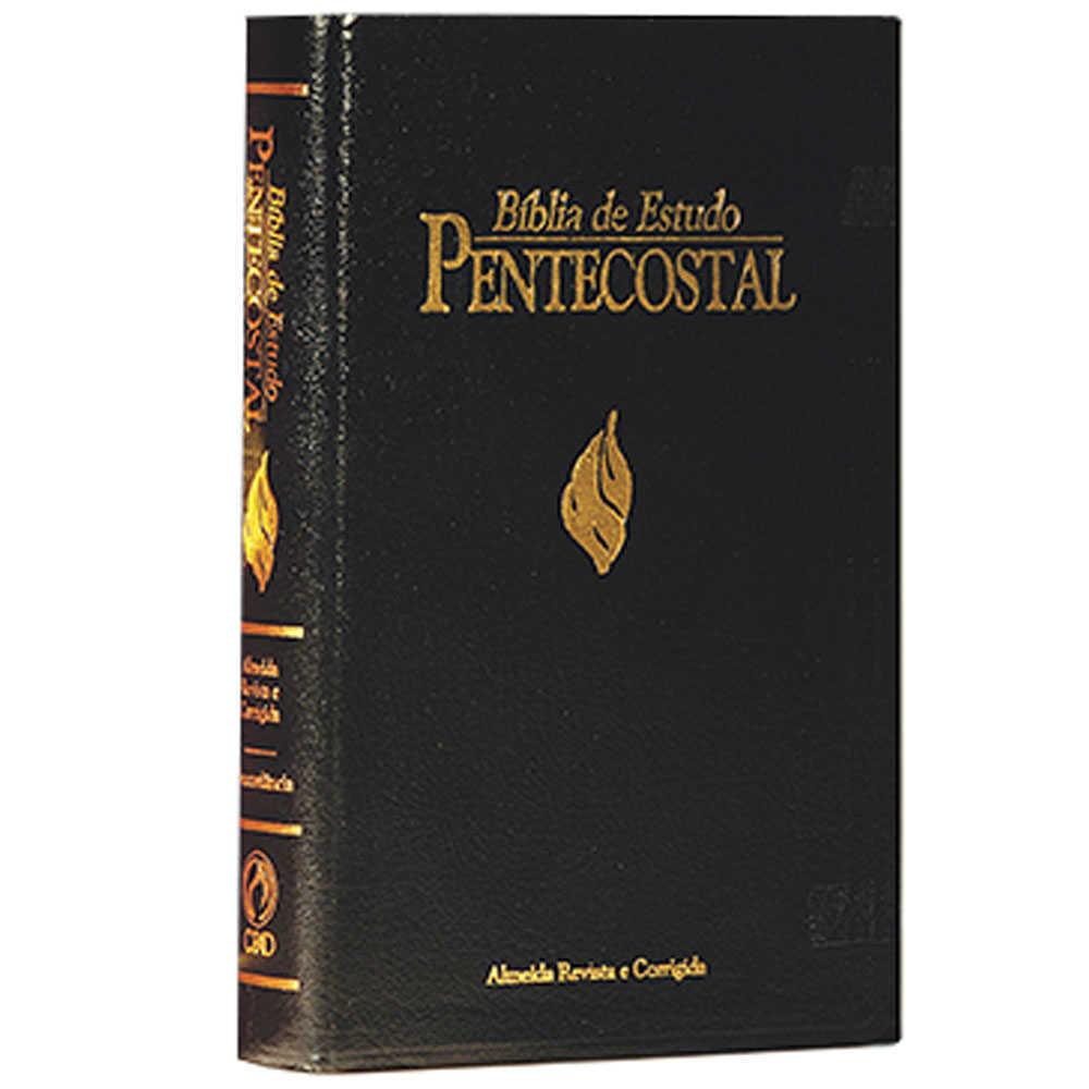 Bíblia-de-Estudo-Pentecostal-Preta