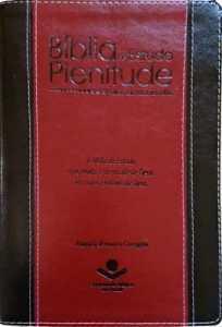Bíblia de Estudo Plenitude ARC Vermelha