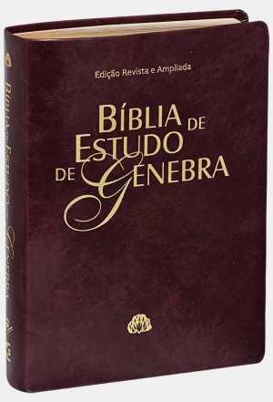 Bíblia de Estudo de Genebra - Vermelha