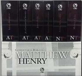 Comentário Bíblico Matthew Henry – Obra Completa