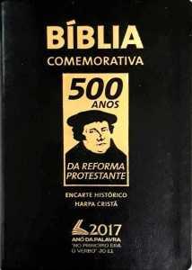 Bíblia Comemorativa 500 anos da Reforma
