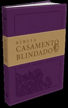 Bíblia Casamento Blindado – Capa Roxa-Renato Cardoso-Cristiane
