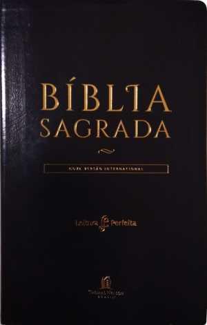 Bíblia Preta NVI - Leitura Perfeita