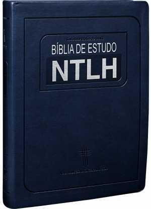 Bíblia de Estudo NTLH - Azul - SBB