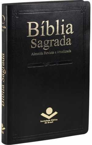 Bíblia Sagrada RA - Slim Preta - SBB