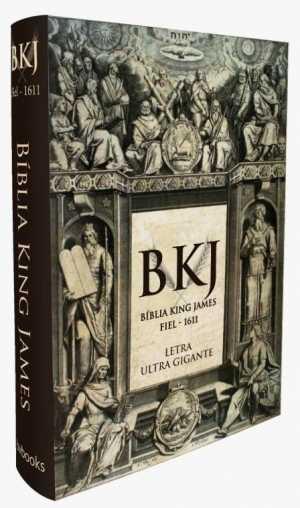 Bíblia King James Fiel 1611 - Letra Ultra Gigante Capa Dura - Bv books