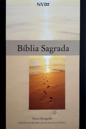 Bíblia sagrada nova ortografia - NVI - Geografica