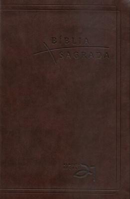 Bíblia Almeida Século 21 - Marrom Café