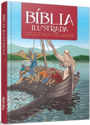 Bíblia Ilustrada - Antigo e Novo Testamento - Graça Editorial