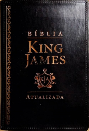 Biblia de estudo king James Atualizada Preta