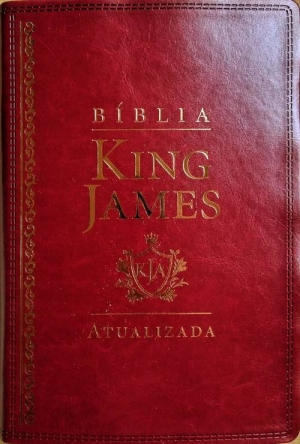 Biblia de estudo king James Atualizada Vermelha