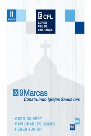 DVD - 9 MARCAS, CONSTRUINDO IGREJAS SAUDAVEIS - MOD. 2 - Editora Fiel