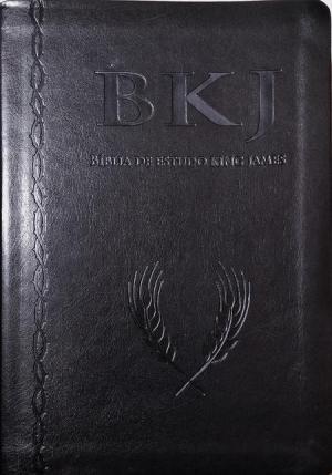 Bíblia de Estudo King James - Preta