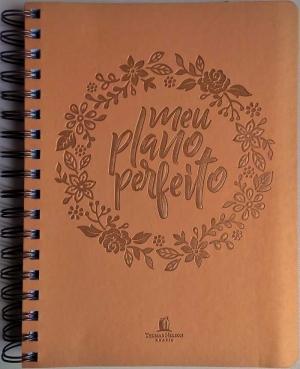 Agenda Meu Plano Perfeito - Capa Dourada