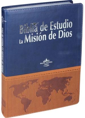 Biblia de etudio la misión de Dios - Reina Valera
