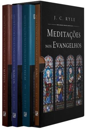 Box Meditações nos Evangelhos - J. C. Ryle