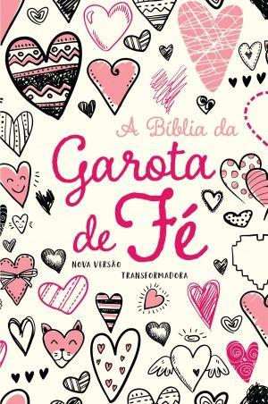 A Bíblia da gatora de fé - NVT - Capa corações