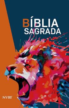 Bíblia Sagrada NVI - Nova Ortografia - Capa Luxo - Leão