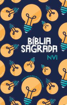 Bíblia Sagrada NVI - Nova ortografia - Capa Luxo - Lampada