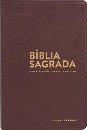 Bíblia sagrada NVT - Luxo Marrom
