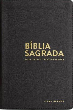 Bíblia sagrada NVT - Luxo Preta