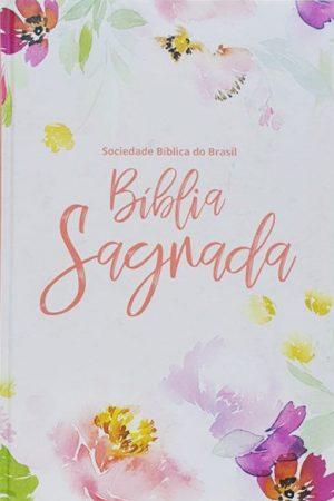 Bíblia Sagrada NAA - Capa dura - Floral - SBB
