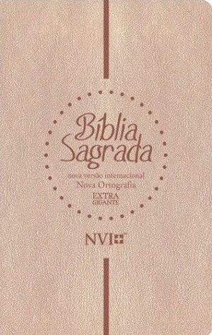 Bíblia Sagrada NVI - Nova ortografia - Extra Gigante - Geografica