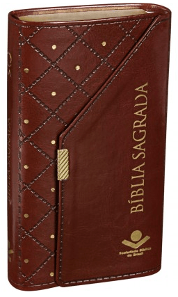 Bíblia Sagrada RA - Carteira - Marrom