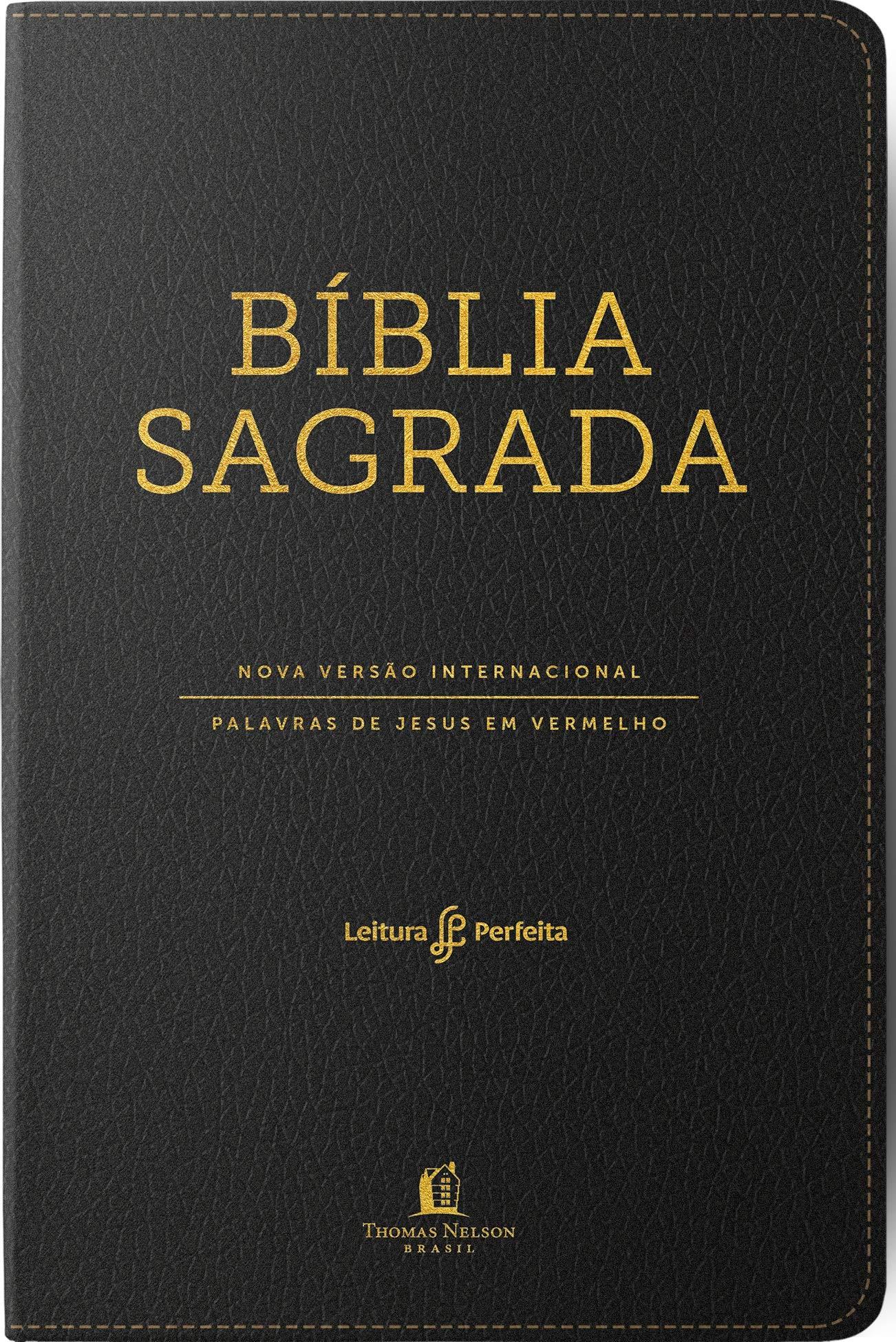 Bíblia Sagrada Nvi Leitura Perfeita Luxo Com índice